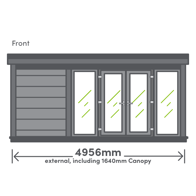 Earn Canopy Package Front View Illustration
