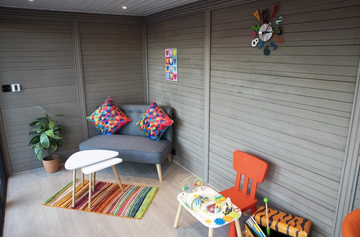 Inside of a McLeods Glaziers garden room