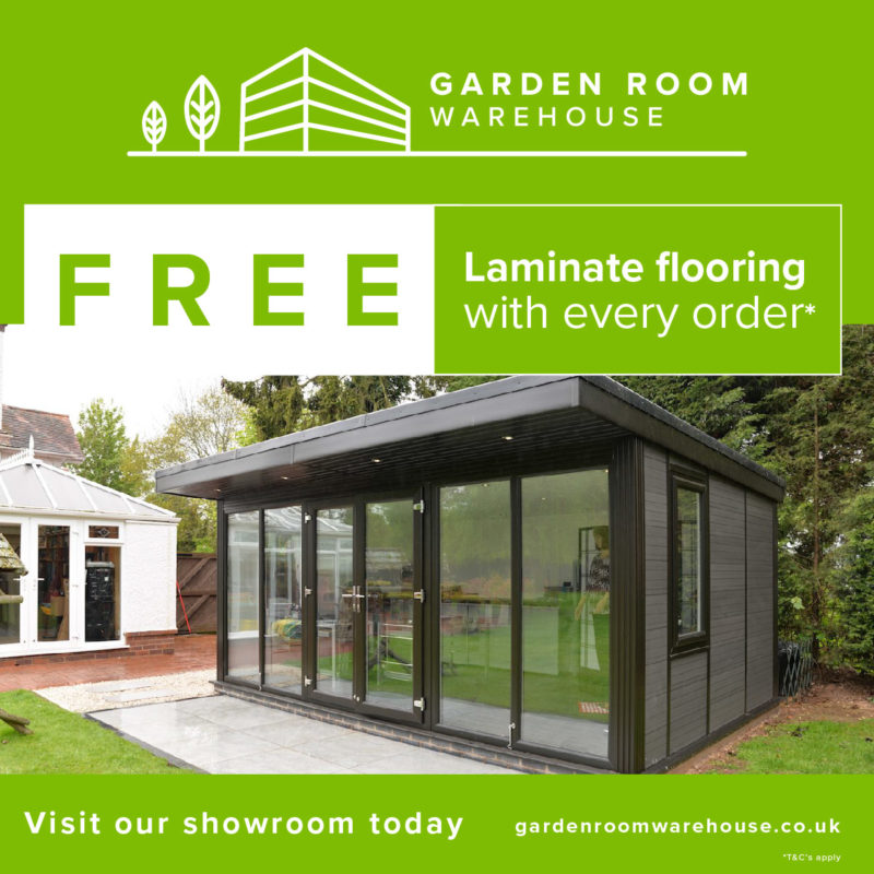 Free laminate flooring offer